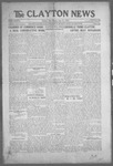 Clayton News, 06-25-1921 by Suthers & Taylor
