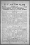 Clayton News, 07-09-1921 by Suthers & Taylor