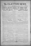 Clayton News, 07-16-1921 by Suthers & Taylor