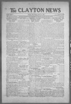 Clayton News, 07-23-1921 by Suthers & Taylor
