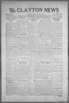 Clayton News, 07-30-1921 by Suthers & Taylor