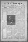 Clayton News, 08-06-1921 by Suthers & Taylor