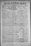 Clayton News, 08-13-1921 by Suthers & Taylor