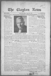 Clayton News, 08-20-1921 by Suthers & Taylor