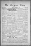 Clayton News, 08-27-1921 by Suthers & Taylor