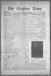Clayton News, 09-10-1921 by Suthers & Taylor