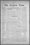 Clayton News, 09-17-1921 by Suthers & Taylor