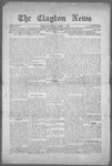 Clayton News, 10-01-1921 by Suthers & Taylor