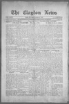 Clayton News, 10-08-1921 by Suthers & Taylor