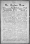 Clayton News, 10-15-1921 by Suthers & Taylor