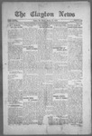Clayton News, 10-22-1921 by Suthers & Taylor