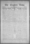 Clayton News, 11-05-1921 by Suthers & Taylor