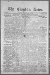 Clayton News, 02-24-1922 by Suthers & Taylor