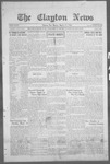 Clayton News, 03-17-1922 by Suthers & Taylor