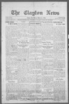 Clayton News, 03-31-1922 by Suthers & Taylor