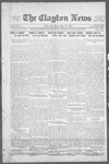 Clayton News, 05-19-1922 by Suthers & Taylor