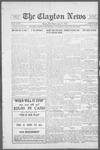 Clayton News, 06-09-1922 by Suthers & Taylor