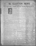 Clayton News, 07-21-1922 by Suthers & Taylor