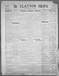 Clayton News, 07-28-1922 by Suthers & Taylor