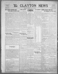 Clayton News, 08-25-1922 by Suthers & Taylor