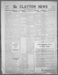 Clayton News, 09-01-1922 by Suthers & Taylor