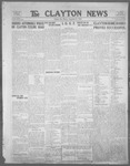 Clayton News, 09-08-1922 by Suthers & Taylor