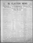 Clayton News, 09-15-1922 by Suthers & Taylor