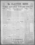 Clayton News, 09-22-1922 by Suthers & Taylor