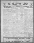 Clayton News, 10-20-1922 by Suthers & Taylor
