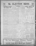 Clayton News, 10-27-1922 by Suthers & Taylor