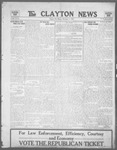 Clayton News, 11-03-1922 by Suthers & Taylor