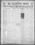 Clayton News, 11-10-1922 by Suthers & Taylor
