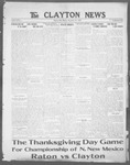 Clayton News, 11-24-1922 by Suthers & Taylor