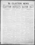Clayton News, 12-01-1922 by Suthers & Taylor