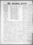 Columbus Courier, 10-22-1915 by The Mitchell Co.