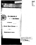 1897-1898-UNM CATALOG by UNM Office of the Registrar