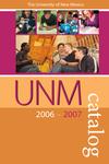 2006-2007 UNM CATALOG