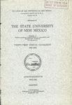 1921-1922-UNM CATALOG