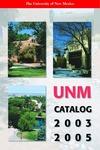 2003-2005 UNM CATALOG