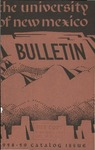 1958-1959 CATALOG ISSUE- BULLETIN by UNM Office of the Registrar