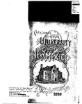 1894-1895-UNM CATALOG by UNM Office of the Registrar