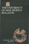 1974-1975 CATALOG ISSUE- BULLETIN