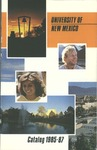 1985-1987-UNM CATALOG by UNM Office of the Registrar