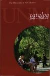 2008-2009-UNM CATALOG