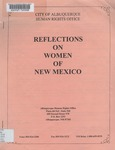 Reflections on Women of New Mexico by Rosalie Williams