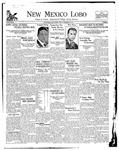 New Mexico Lobo, Volume 032, No 1, 9/20/1929
