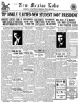 New Mexico Lobo, Volume 033, No 24, 3/27/1931 by University of New Mexico