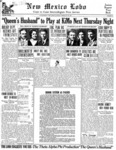 New Mexico Lobo, Volume 034, No 22, 3/11/1932 by University of New Mexico