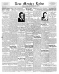 New Mexico Lobo, Volume 034, No 23, 3/18/1932 by University of New Mexico