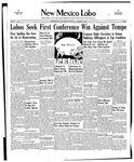 New Mexico Lobo, Volume 040, No 14, 10/30/1937